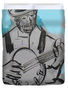 Bluesman Duvet Cover