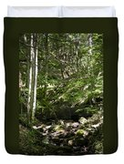 Bluestone State Park Mountain Stream West Virginia Duvet Cover