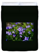 Bluets Duvet Cover