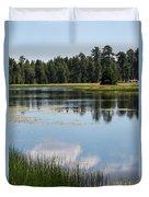 Bluff Lake Ca 4 Duvet Cover