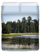 Bluff Lake Ca 6 Duvet Cover