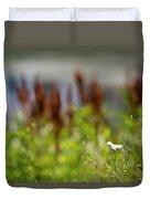 Bluff Lake Ca Wild Flowers 1 Duvet Cover