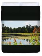 Bluff Lake Ca Wild Flowers 12 Duvet Cover