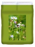 Bluff Lake Ca Wild Flowers 8 Duvet Cover