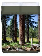 Bluff Lake Forest 3 Duvet Cover