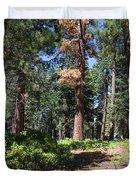 Bluff Lake Forest 6 Duvet Cover