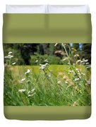 Bluff Lake Wild Flowers 1 Duvet Cover