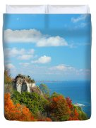 Bluffs Splendour - Scarborough Bluffs Duvet Cover