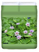 Blumen Des Wassers - Flowers Of The Water 22 Duvet Cover