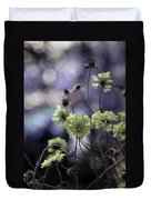 A Meadow's Blur Of Nature Duvet Cover