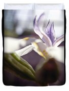 Blurred Iris Duvet Cover by Ray Laskowitz - Printscapes