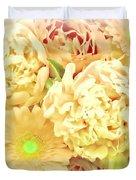 Blush Floral Bouquet Duvet Cover