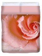Blush Pink Rose Duvet Cover