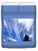 Blustery Sky Duvet Cover
