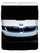 Bmw E Drive I8 Duvet Cover by Aaron Berg