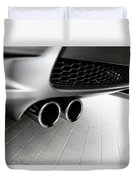 Bmw M3 Exhaust  Duvet Cover by Aaron Berg