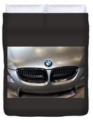 Bmw M3 Hood Duvet Cover by Aaron Berg