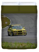 Bmw M3 Tire Rack Duvet Cover