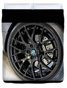 Bmw M3 Wheel Duvet Cover by Aaron Berg