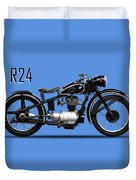 The R24 Motorcycle Duvet Cover