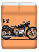 The R51 Motorcycle Duvet Cover