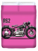 The R62 Motorcycle Duvet Cover