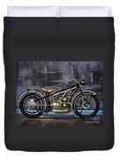 Bmw Vintage Motorcycle Duvet Cover