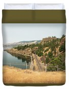Bnsf Tunnel Duvet Cover