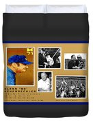 Bo Schembechler Legend Five Panel Duvet Cover