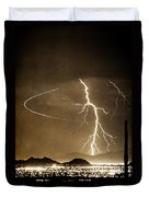 Bo Trek Lightning Art Duvet Cover