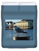 Boardwalk Seagull Duvet Cover