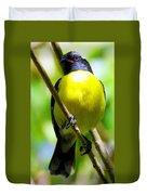 Boastful Bird Duvet Cover