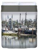 Boat Basin Color Duvet Cover