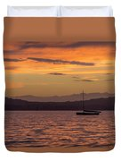 Boat By Holywood Duvet Cover