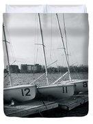 Boat Club #1 Duvet Cover