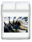 Boat Load Of Reflections Duvet Cover
