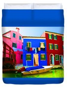 Boat Matching House Duvet Cover