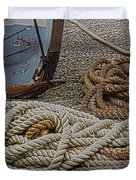 Boat Ropes Duvet Cover