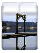 Boat Series #4 Duvet Cover