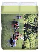 Boat Tours Tam Coc Vietnam  Duvet Cover