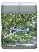 Boat Trailer Duvet Cover