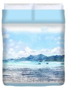 Boating Must Be Fun Duvet Cover