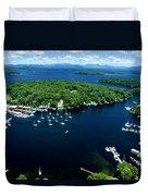 Boating Season Duvet Cover