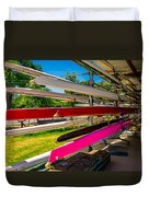 Boats At Dallas Rowing Club Duvet Cover