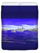 Boats Everywhere 3 Duvet Cover