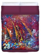 Boats In Calpe 02 Spain Duvet Cover