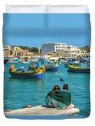 Boats Lovers Duvet Cover