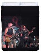 Bob Weir And John K. - Furthur Duvet Cover