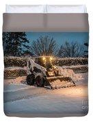 Bob Cat Snow Duvet Cover