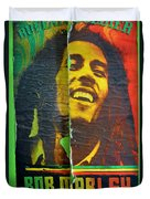 Bob Marley Door At Pickles Usvi Duvet Cover
